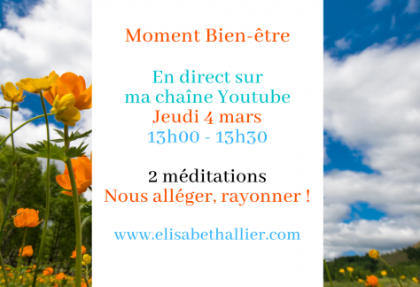 méditation en direct